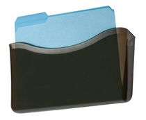 Rubbermaid® Unbreakable Letter-Size Wall File, Smoke