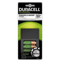 Duracell 8000 Ion Speed Rechargeable Battery Charger