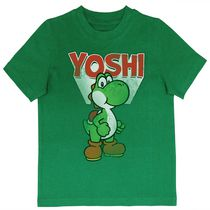 Nintendo Boys' Yoshi Short Sleeves Crew Neck T-Shirt M 10/12