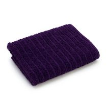 Mainstays Ring Spun Face Cloth Purple