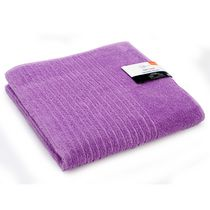 Mainstays Ring Spun Bath Towel Light Purple