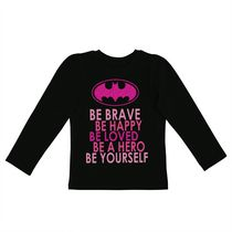 Batgirl Girls Long Sleeve Tee 5