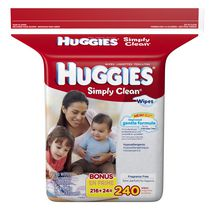 HUGGIES® Simply Clean® Baby Wipes, Refill
