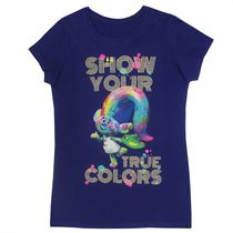 DreamWorks Trolls Girls' Short Sleeve T-shirt L 14