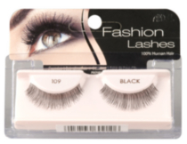 Fashion Lashes # 109 noirs d'Ardell