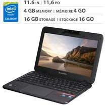 "Lenovo 11.6"" Chromebook with Intel® Celeron® N2840 Dual-Core 2.16GHz Processor, English - N21-80MG0001US"