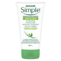Simple Kind To Skin Sensitive Skin Experts Non-Drying Moisturizing Facial Wash