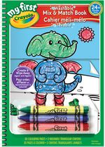Crayola My First Mix and Match Coloring Book
