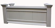 New England Arbors Windsor Long Vinyl Raised Planter Box - VA68214