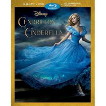Cinderella (Live Action) (2015) (Blu-ray + DVD + Digital HD) (Bilingual)