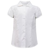George School Uniform - Girl's Cap-Sleeve Blouse S