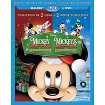 Mickey's Once Upon A Christmas / Mickey's Twice Upon A Christmas (Blu-ray + 2DVDs) (Bilingual)