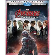 Avengers: Age Of Ultron (Blu-ray 3D + Blu-ray + Digital HD)
