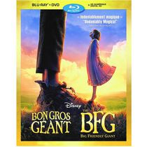 The BFG: Big Friendly Giant (Blu-ray + DVD + Digital HD) (Bilingual)