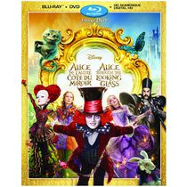 Alice Through The Looking Glass (Blu-ray + DVD + Digital HD) (Bilingual)