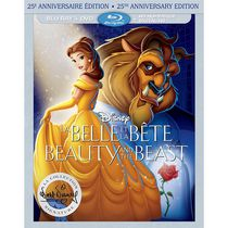 Beauty And The Beast (25th Anniversary Edition) (Blu-ray + DVD + Digital HD) (Bilingual)