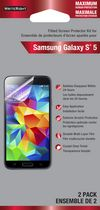 Fellowes WriteRight Maximum Protection Screen Protector for Samsung Galaxy S5- 2 Pack