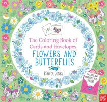 Coloring Book Cards Flowers