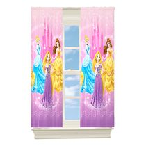"Disney Princess Pets ""Grand Beauties"" Room Darkening Drapery Panel"