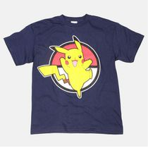 Pokemon Boys' Short Sleeve T-Shirt L