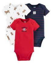 Child of mine made by Carter's  Boys' Dog Bodysuits, Pack of 3 3-6