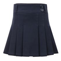 George School Uniform – Girl's Pleated Skort Navy 7