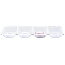 Goodtimes Crystalware 4 Compartment Tray