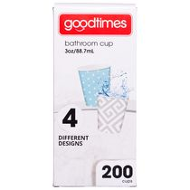Goodtimes™ Contemporary Designs Bathroom Paper Cups