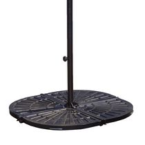 Island Umbrella 4 - 30-lb Resin Bronze Umbrella Base Weights
