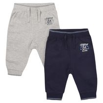 George British Design Baby Boys' 2Pk Jogger 3-6 months