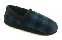 George Toddler Boys' Russell Fleece Slippers Blue 4-5