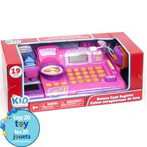 kid connection Pink Deluxe Cash Register Playset