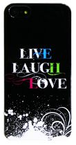 Exian Case for iPhone SE 5/5s - Live/Laugh/Love 2