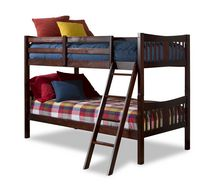 Stork Craft Caribou Bunk Bed Cherry