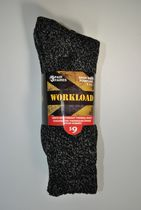 workload men's heavyweight thermal socks 3 pair