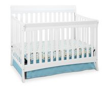 Storkcraft Avalon 4-in-1 Convertible Crib White