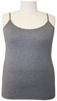 George Plus Women's Camisole Grey Mix 3X