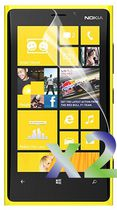 Exian Screen Protector for Nokia Lumia 920, Clear - 2 Pieces