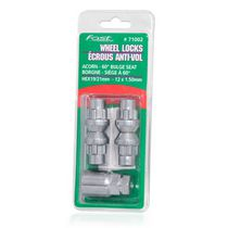 Fastco Acorn Chrome Wheel Lock Nuts
