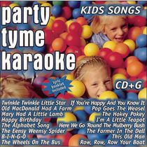 Karaoke - Party Tyme Karaoke: Kids Songs (16-Song CD+G)
