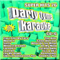 Sybersound - Party Tyme Karaoke: Super Hits 26 (CD + G)