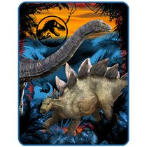 "Universal Studios Home Entertainment Jurassic World ""Prehistoric Sunset"" Throw Blanket"