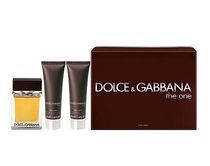 Dolce & Gabbana The One 100 ml Eau De Toilette Spray + 50 ml After Shave + 50 ml Shower Gel -Set For Men