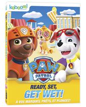 Paw Patrol - Ready, Set, Get Wet! (DVD)(Bilingual)
