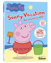 Peppa Pig - Sunny Vacation DVD (Bilingual)