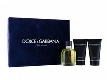 Dolce & Gabbana 125 ml Eau De Toilette Spray + 50 ml After Shave Balm + 50 ml Shower Gel Set -Set for Men