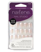 Nailene Nail Studio Glue On Artificial Nails - Petite