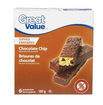 Great Value Chocolate Dipped Granola Bars