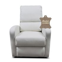Kidilove Bermuda Bonded White Leather Baby Chair White