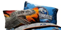 "Universal Studios Jurassic World ""Dinosaur Attraction"" Reversible Pillowcase"